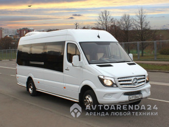 аренда Mercedes-Benz Sprinter VIP 515 в обвесе прокат