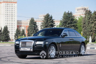 аренда Rolls-Royce Phantom GHOST прокат