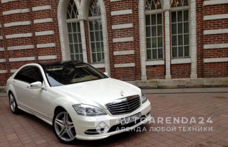 аренда Mercedes-Benz S221 AMG Restyling прокат