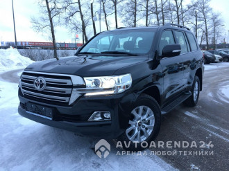 аренда TOYOTA LAND CRUISER 200 Rest 2017 прокат