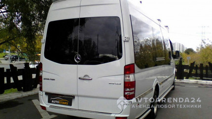 аренда MERCEDES SPRINTER LUX в Москве прокат